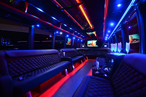40 Person Party Bus Rental